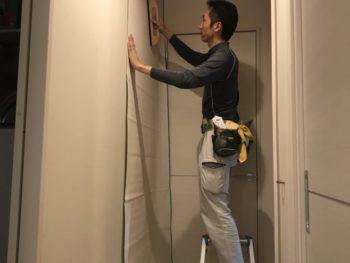 壁穴を開けてしまって壁修理