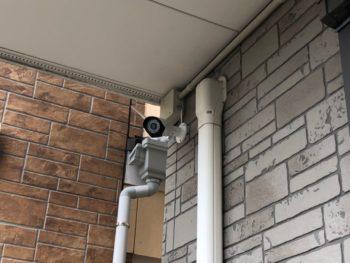 名古屋市 T様邸 防犯カメラ設置で死角なし☆