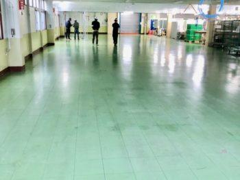 桑名市 N工場 床洗浄