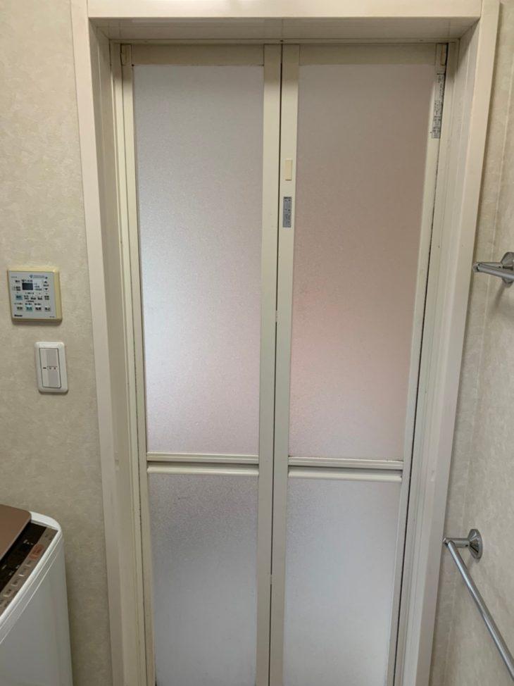 朝日町 浴室 アクリル板交換
